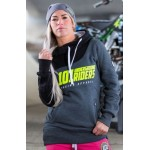 Mikina 101 Underground Riders HYPERTRON II graphite girls hoodie