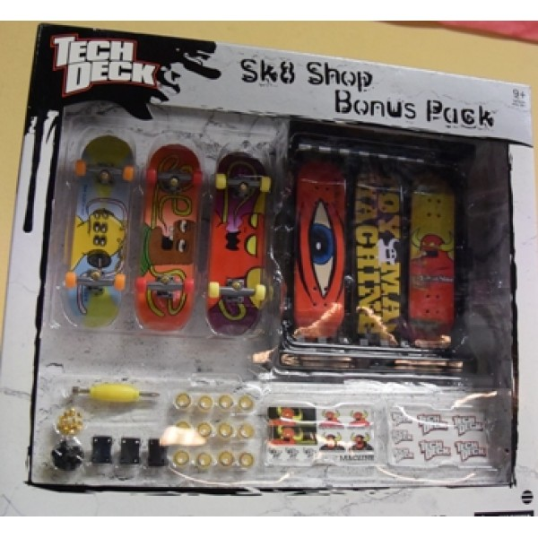 TechDeck Skateshop Bonus Pack 3