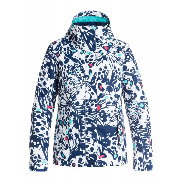 Roxy zimní bunda Jetty Butterfly print blue