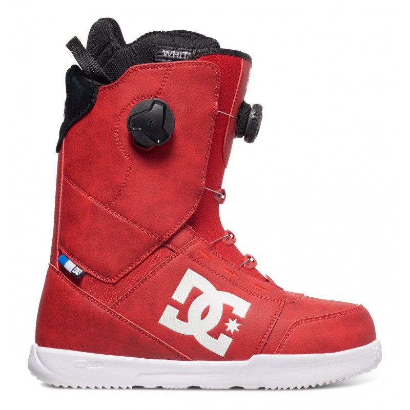 96e15e213 DC boty na snowboard Control Racing red