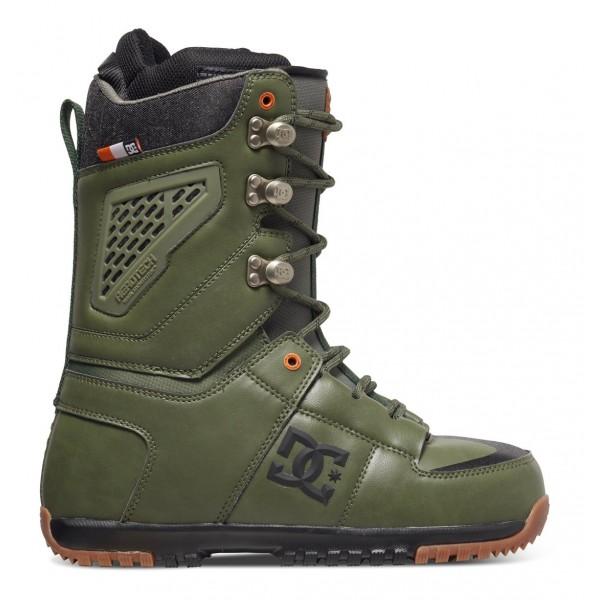 DC boty na snowboard Lynx military green