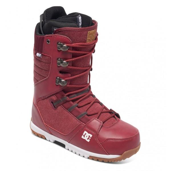 DC boty na snowboard Mutiny red