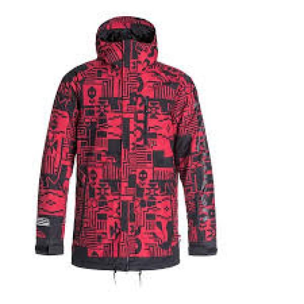 DC snowboardová bunda Ripley Red
