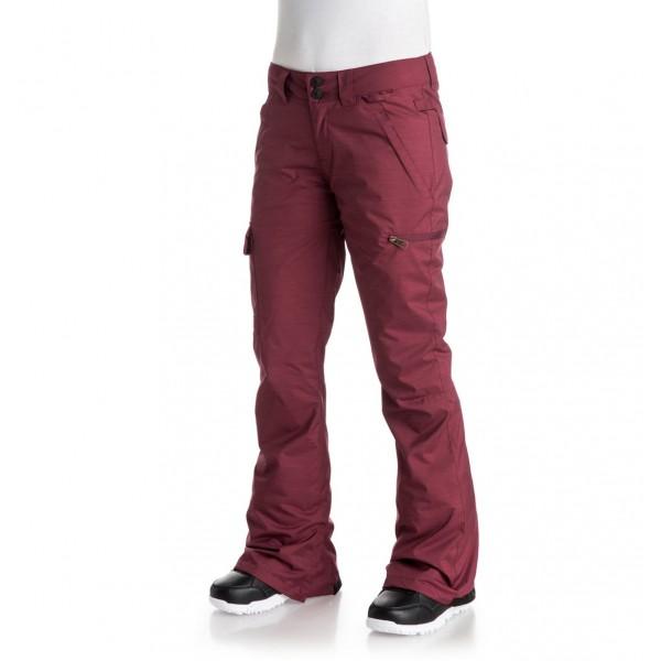 DC snowboardové kalhoty Recruit red