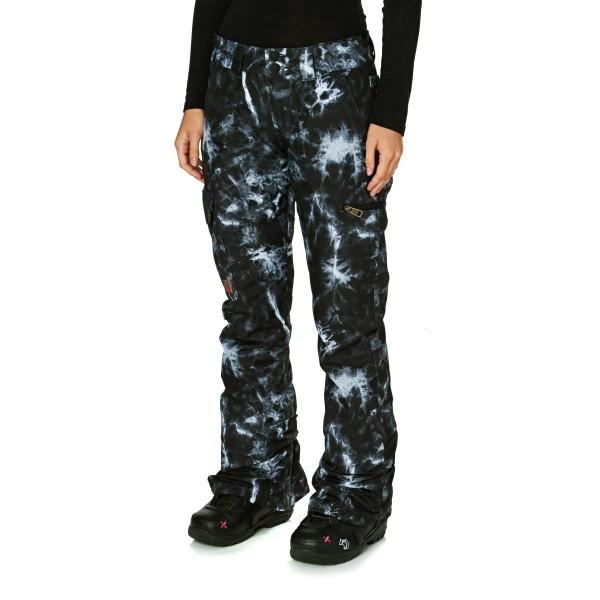 DC snowboardové kalhoty Recruit Tie dye