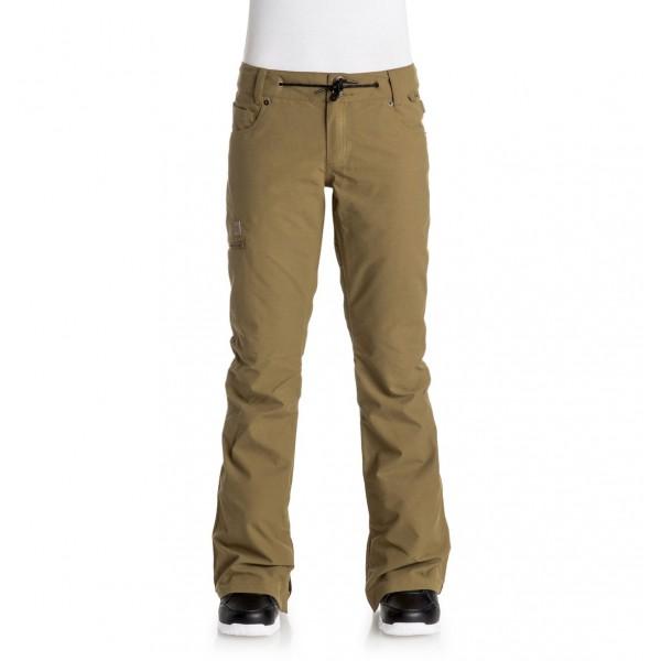 DC snowboardové kalhoty Viva Dull gold