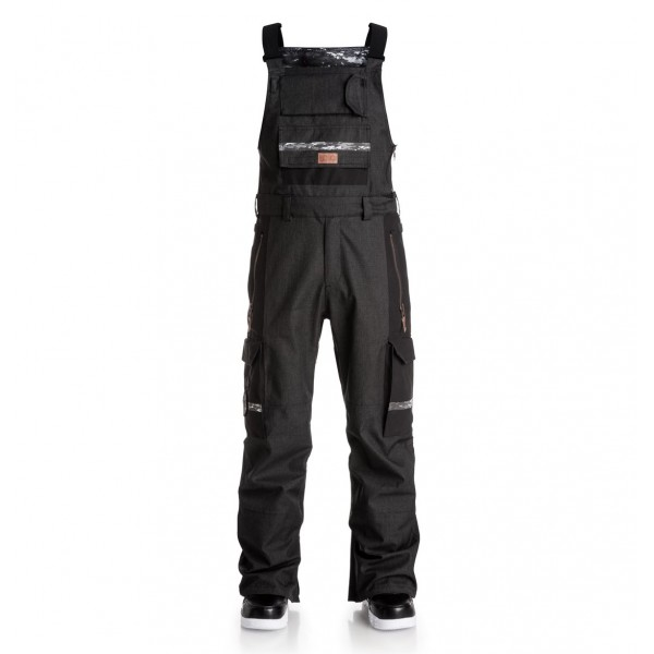DC snowboardové kalhoty Platoon black