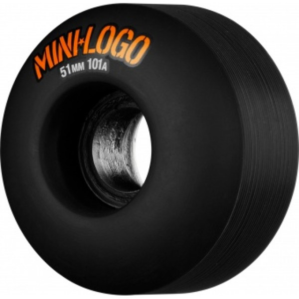 kolečka MiniLogo 51mm x 101a black