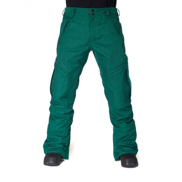 Kalhoty na snowboard Horsefeathers Motive deep green L,XL