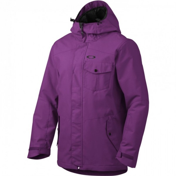 OAKLEY snowboardová bunda Mig Hooded Shell 15K / helio purple L