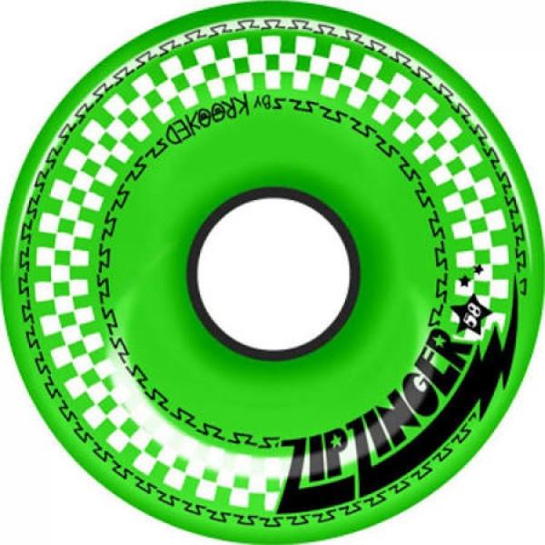 Kolečka Krooked Zip Zinger 58Mm/78A green