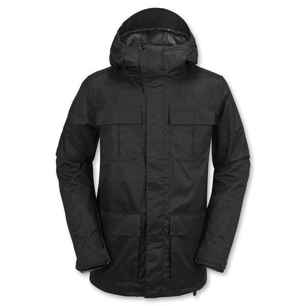 Volcom snowboardová bunda Alternate black