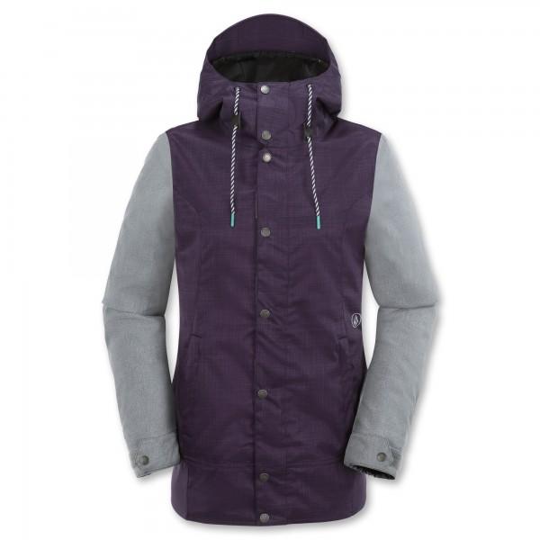 Volcom snowboardová bunda Stave ins purple