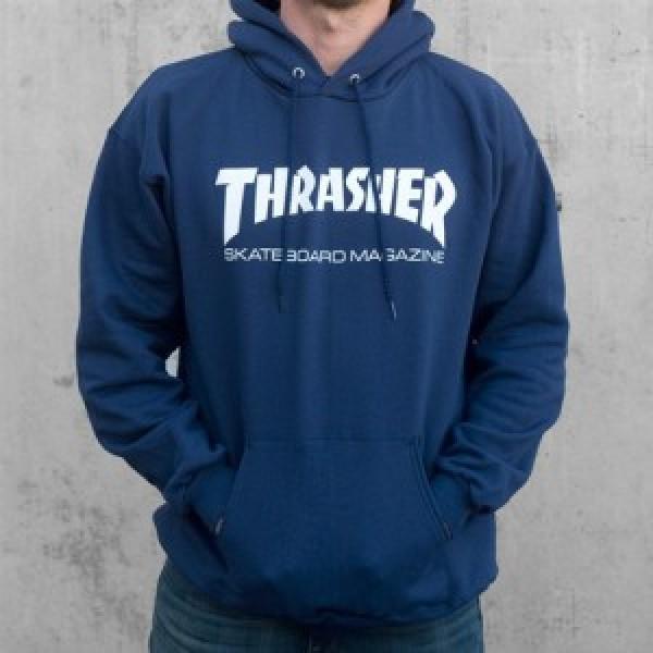 Thrasher mikina Skate Mag Hood Navy