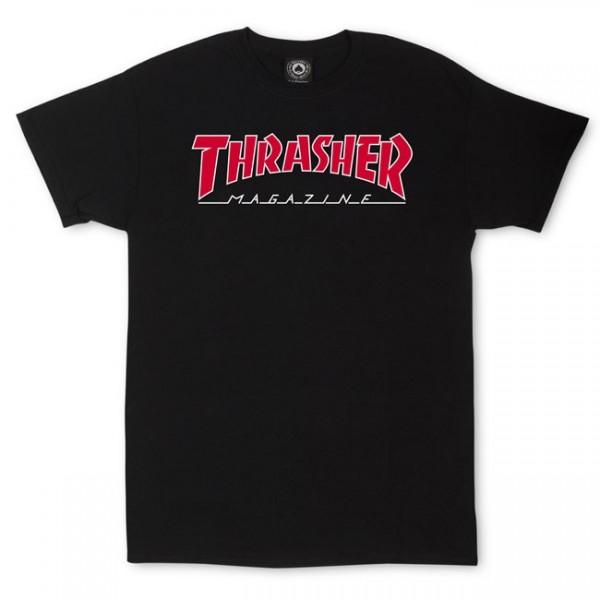 Triko Thrasher OUTLINED Black