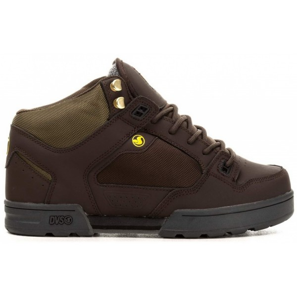 Boty DVS Militia Boot brown green