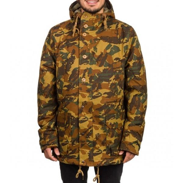 Volcom zimní bunda Lidward Camo