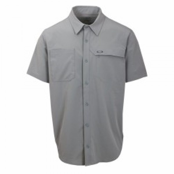 OAKLEY košile Agility SS stone grey