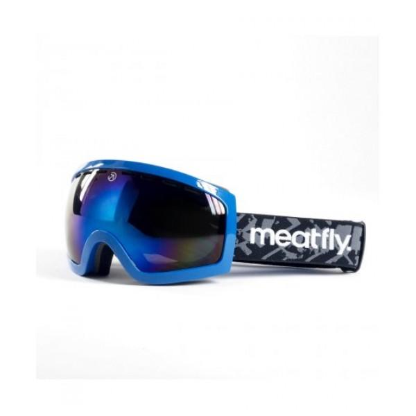Snowboardové brýle Meatfly Sphere 2 Goggles C - blue chrome