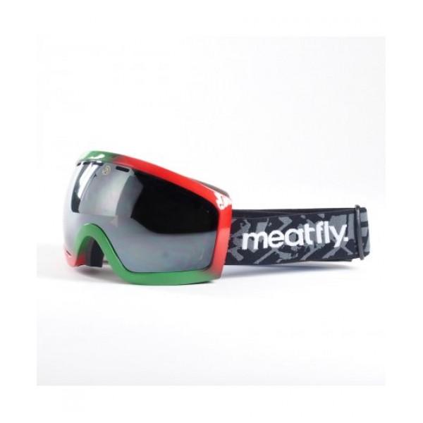 Snowboardové brýle Meatfly Sphere 2 Goggles D- rasta black chrome