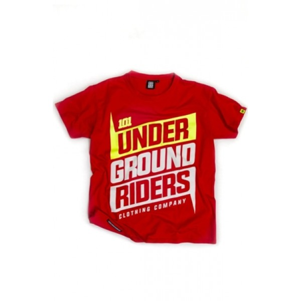 Triko 101 Underground Riders RAR2 Tee red
