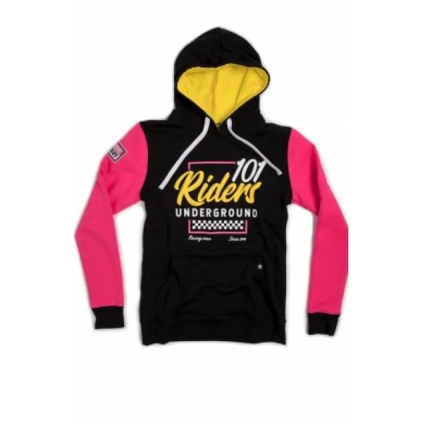 Mikina 101 Riders rival hood