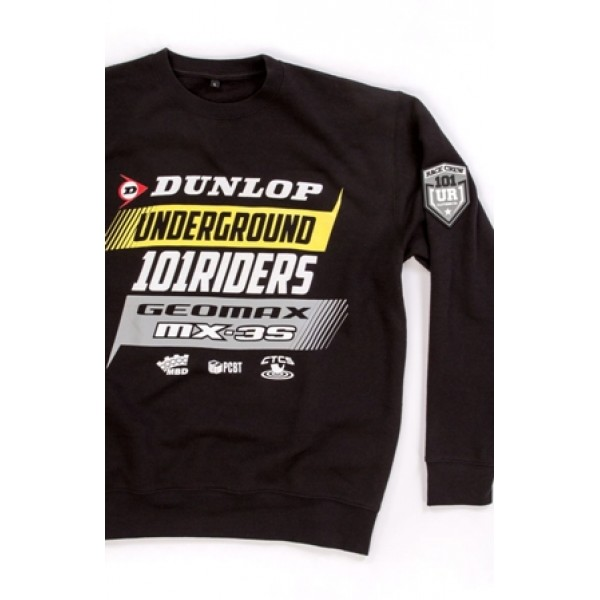 Mikina 101 Underground Riders DUNLOP MX sweat 18