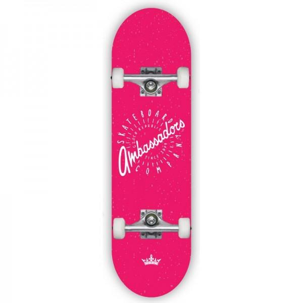 Skate komplet 7.875 Ambassadors Spin Red