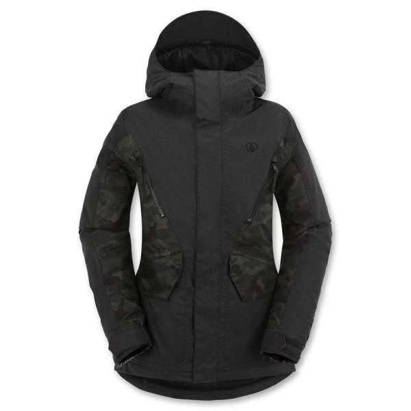 Volcom snowboardová bunda Fauna ins black