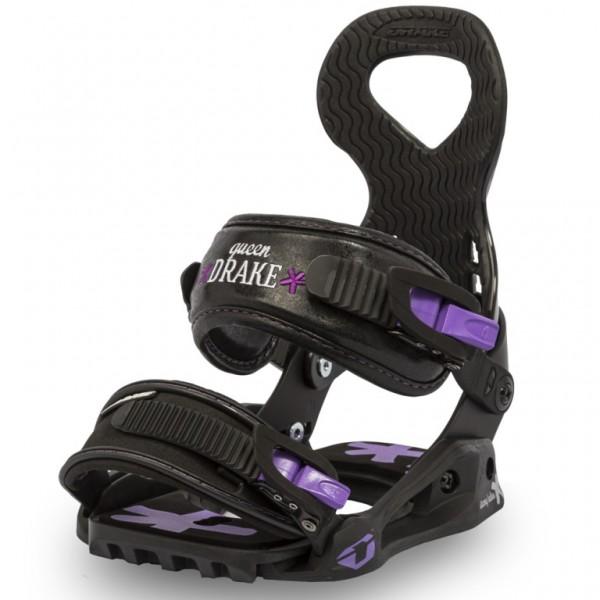 Snowboardové vázání Drake Queen black