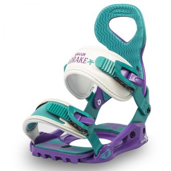 Snowboardové vázání Drake Queen purple