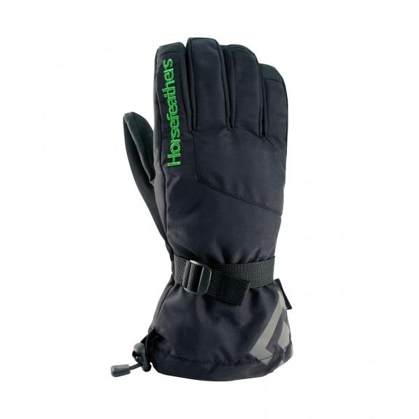 Snowboardové rukavice Horsefeathers green