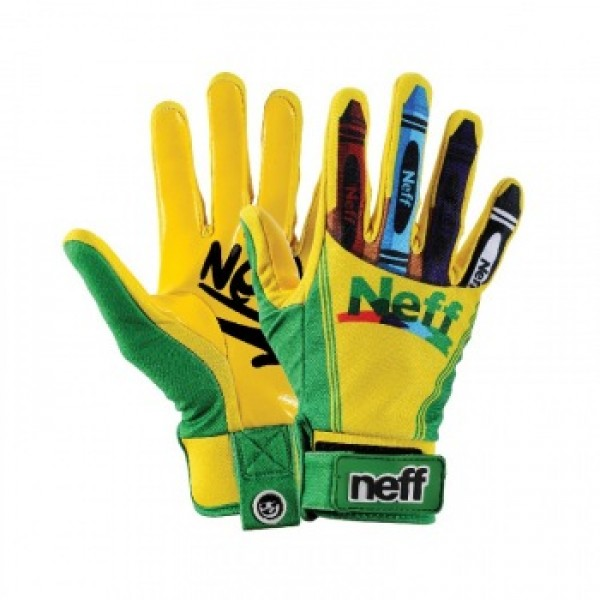Snowboardové rukavice Neff pipe L