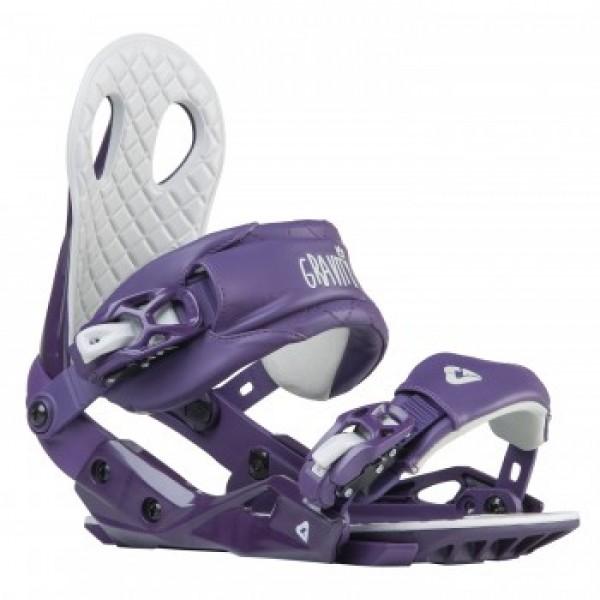 Snowboardové vázání Gravity G2 lady purple M,L
